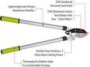 Hand operated lopper